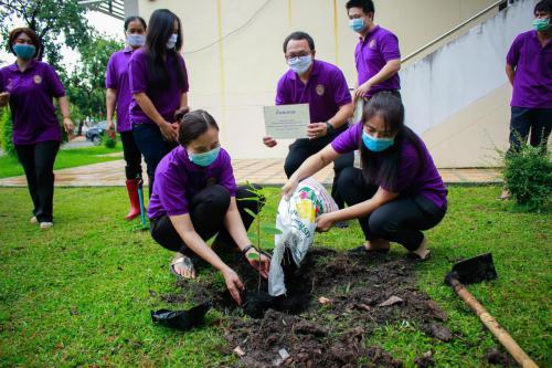 กิจกรรมปลูกต้นไม้ 2 มิ.ย. 63 - 1